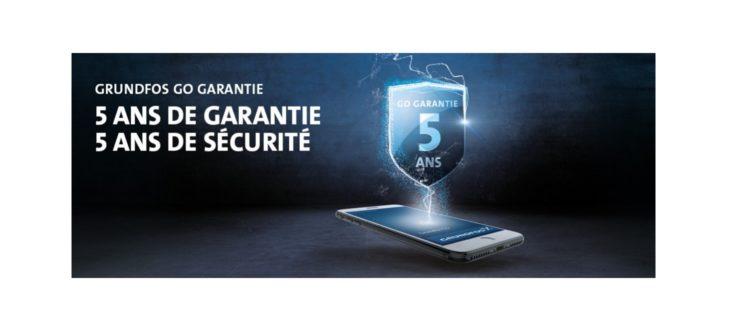 Grundfos Go – Garantie étendue à 5 ans